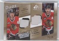 Brent Seabrook, Patrick Sharp /25