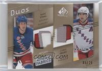 Marc Staal, Chris Drury /25