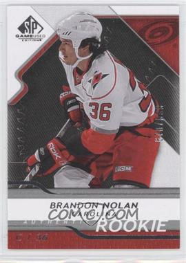 2008-09 SP Game Used Edition #108 - Brandon Nolan /999