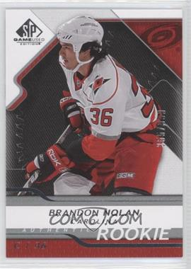 2008-09 SP Game Used Edition #108 - Brandon Nolan /999