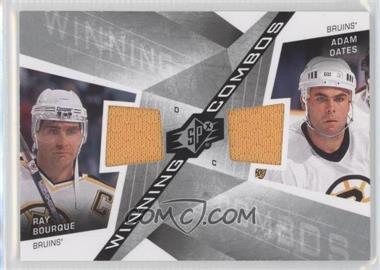 2008-09 SPx Winning Combos #WC-BO - Ray Bourque, Adam Oates