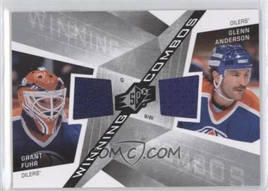 2008-09 SPx Winning Combos #WC-FA - Grant Fuhr, Glenn Anderson