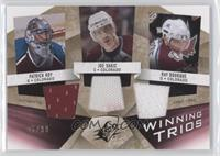 Patrick Roy, Joe Sakic, Ray Bourque /99