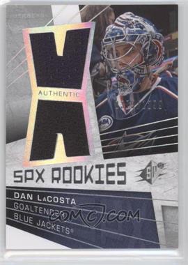 2008-09 SPx #143 - Rookies Jerseys - Dan LaCosta /1299