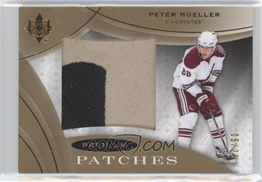 2008-09 Ultimate Collection - Premium Patches #PS-PM - Peter Mueller /25
