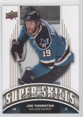 2008-09 Upper Deck - Super Skills #SS4 - Joe Thornton