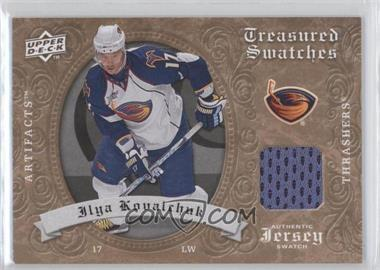 2008-09 Upper Deck Artifacts Retail Treasured Swatches #TS-IK - Ilya Kovalchuk