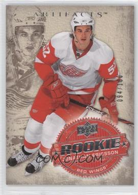 2008-09 Upper Deck Artifacts Silver #239 - Jonathan Ericsson /100
