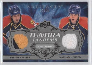 2008-09 Upper Deck Artifacts Tundra Tandems Dual Jerseys Silver #TT-WH - Stephen Weiss, Nathan Horton /50