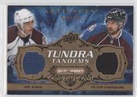 Joe Sakic, Peter Forsberg /100