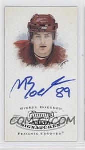 2008-09 Upper Deck Champ's - Mini Signatures #CS-BK - Mikkel Boedker