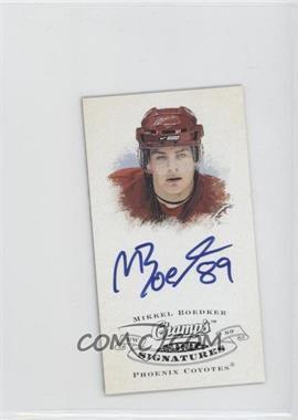 2008-09 Upper Deck Champ's Mini Signatures [Autographed] #CS-BK - Mikkel Boedker