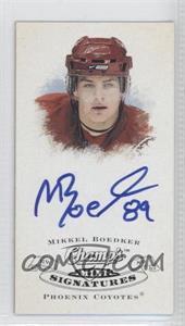 2008-09 Upper Deck Champ's Mini Signatures #CS-BK - Mikkel Boedker