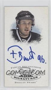 2008-09 Upper Deck Champ's Mini Signatures #CS-FB - Fabian Brunnstrom