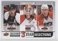 Mike Richards, Martin Biron, Jeff Carter