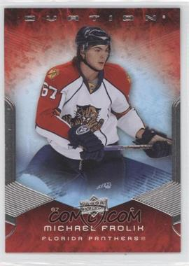 2008-09 Upper Deck Ovation #170 - Michael Frolik