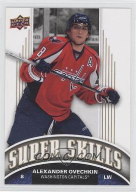 2008-09 Upper Deck Target Super Skills #SS3 - Alex Ovechkin