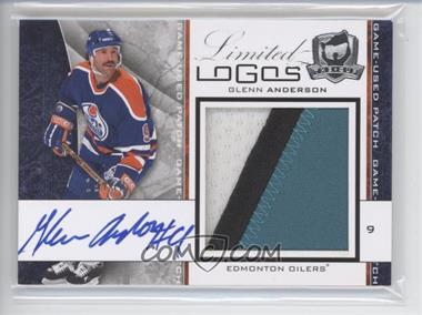 2008-09 Upper Deck The Cup Limited Logos #LL-GA - Glenn Anderson /50