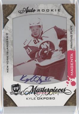 2008-09 Upper Deck The Cup Masterpieces Printing Plate Magenta #MAS-76 - Kyle Okposo /1