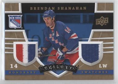 2008-09 Upper Deck Trilogy Honorary Swatches #HS-BS - Brendan Shanahan