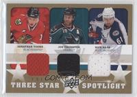 Rick Nash, Jonathan Toews, Joe Thornton