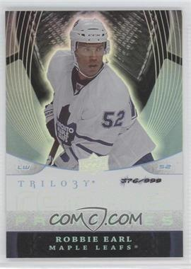 2008-09 Upper Deck Trilogy #107 - Robbie Earl /999
