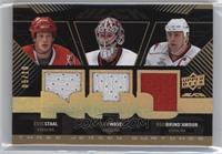 Eric Staal, Cam Ward, Rod Brind'Amour /10