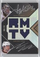 Ryan Miller, Thomas Vanek /15