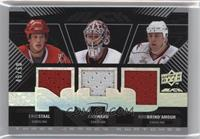 Eric Staal, Cam Ward, Rod Brind'Amour /50
