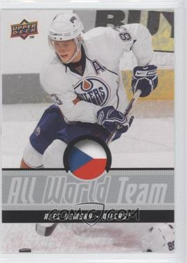 2008-09 Upper Deck Wal-Mart Exclusive All World Team #AWT14 - Ales Hemsky