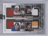 Nicklas Lidstrom, Scott Niedermayer, Brian Leetch, Ray Bourque /9 [ENCASED]