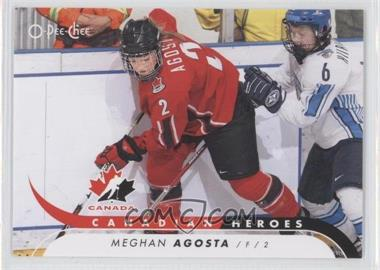2009-10 O-Pee-Chee Canadian Heroes #CB-MA - Meghan Agosta