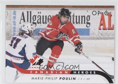 2009-10 O-Pee-Chee Canadian Heroes #CB-MP - Marie-Philip Poulin