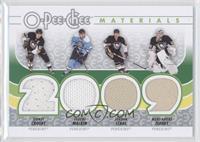 Sidney Crosby, Jordan Staal, Marc-Andre Fleury