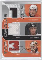 Mike Richards, Jeff Carter, Ray Emery