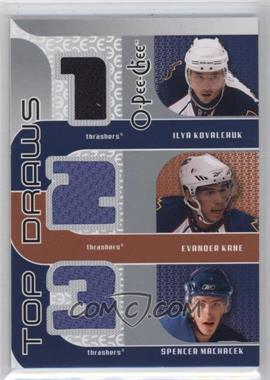2009-10 O-Pee-Chee Top Draws #TJ-THRSH - Ilya Kovalchuk, Evander Kane, Spencer Machacek
