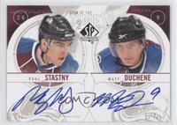 Paul Stastny, Matt Duchene