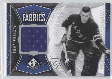 2009-10 SP Game Used Edition - Authentic Fabrics #AF-GW - Gump Worsley