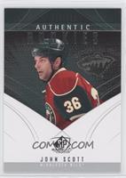 Authentic Rookies - John Scott /699