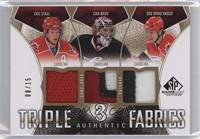 Eric Staal, Cam Ward, Rod Brind`Amour /15