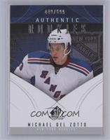 Authentic Rookies - Michael Del Zotto /699 [Near Mint‑Mint+]