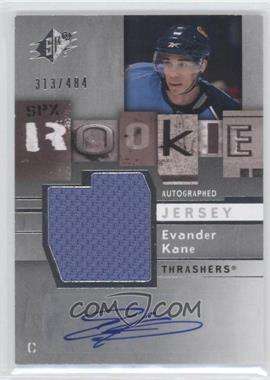 2009-10 SPx #178 - Evander Kane /484