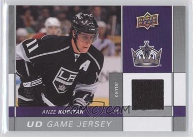 2009-10 Upper Deck - Game Jersey #GJ-AK - Anze Kopitar