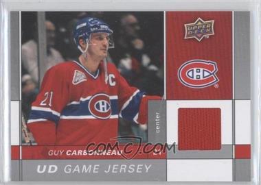 2009-10 Upper Deck - Game Jersey #GJ-GC - Guy Carbonneau
