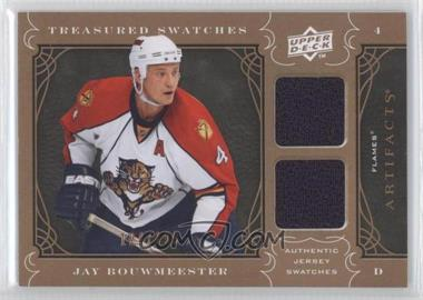 2009-10 Upper Deck Artifacts - Treasured Swatches #TS-JB - Jay Bouwmeester /199