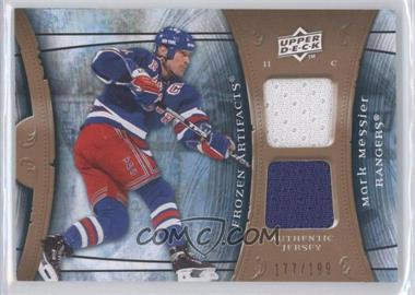 2009-10 Upper Deck Artifacts Frozen Artifacts #FA-MM - Mark Messier /199