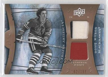 2009-10 Upper Deck Artifacts Frozen Artifacts #FA-WI - Doug Wilson /199