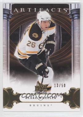 2009-10 Upper Deck Artifacts Gold #34 - Blake Wheeler /50