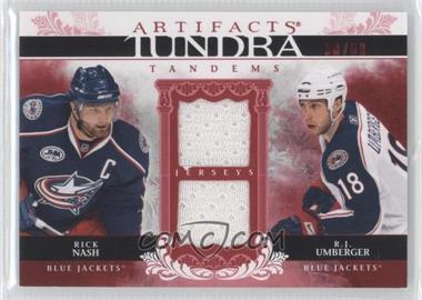 2009-10 Upper Deck Artifacts Tundra Tandems Red #TT-NU - Rick Nash, R.J. Umberger /50