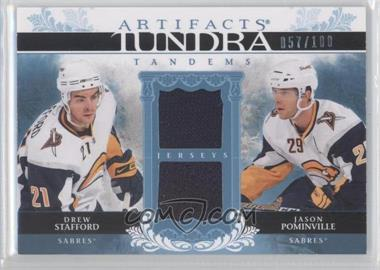 2009-10 Upper Deck Artifacts Tundra Tandems #TT-PS - Drew Stafford, Jason Pominville /100